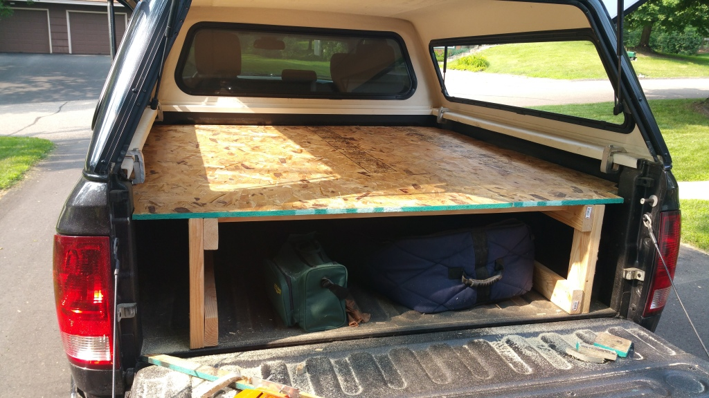 how to keep things from sliding around in truck bed